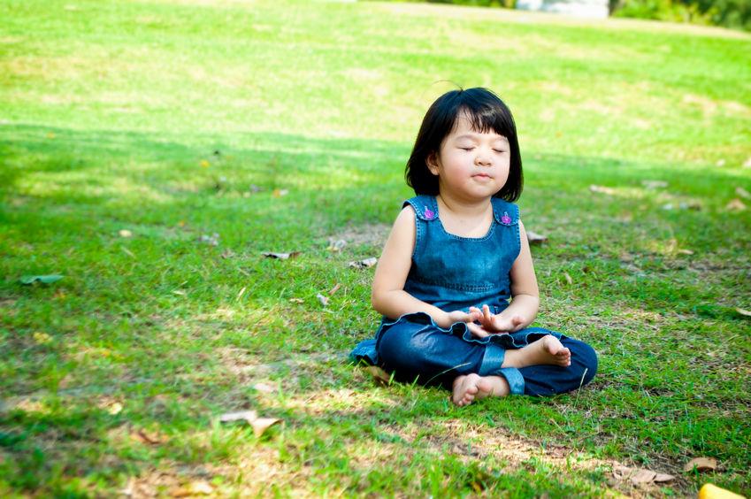 Child-Meditating