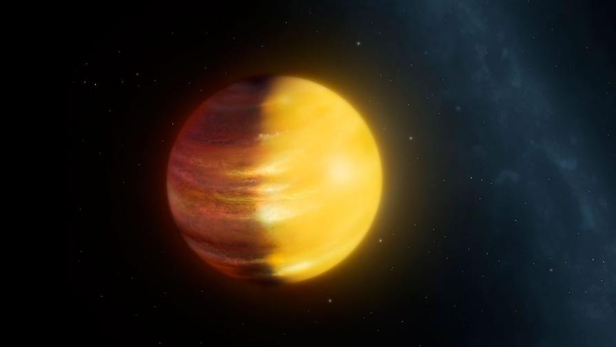 exoplanet HAT-P-7b.