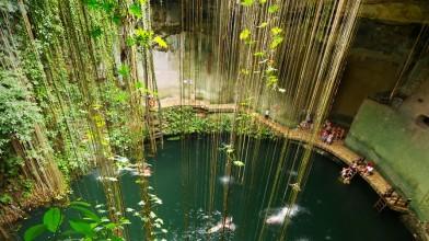Ik-Kil-Cenote-Mexico