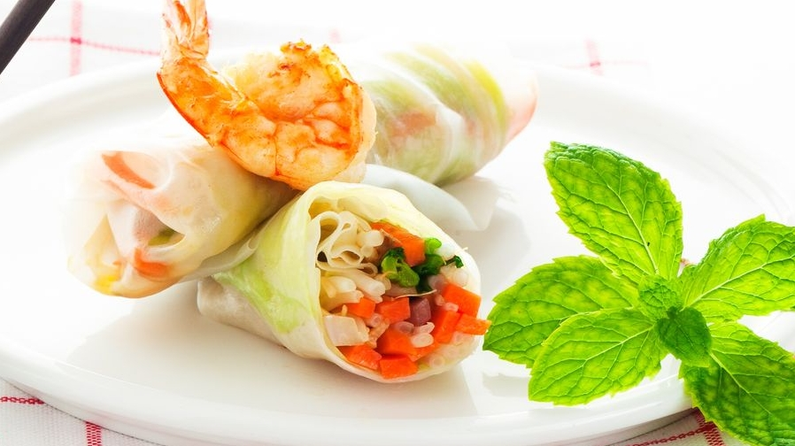 Vietnamese-fresh-roll
