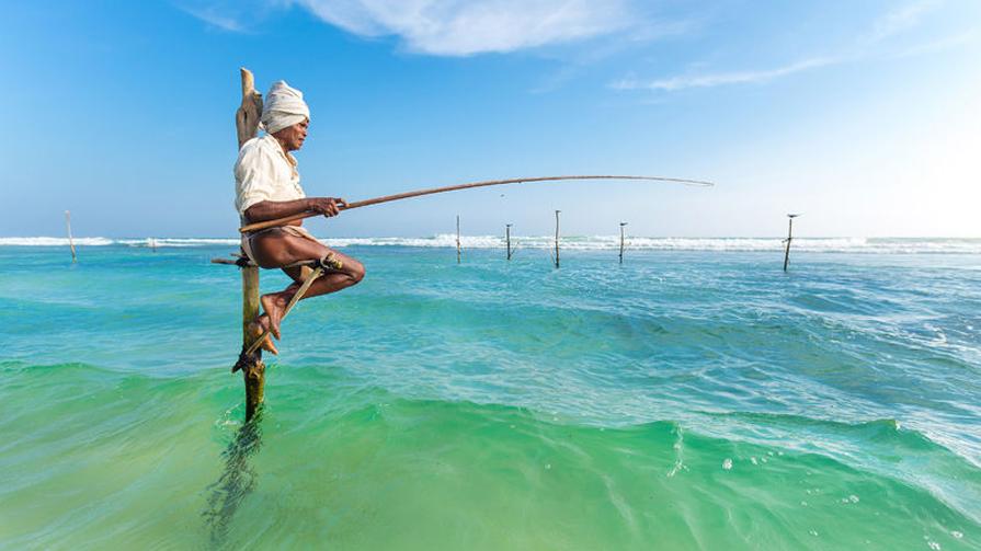 Stilt-fishermen-Sri-Lanka