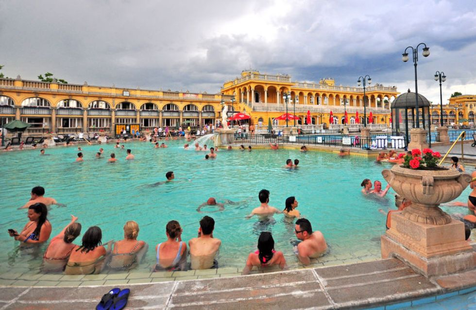 Thermal-baths-Budapest-Hungary