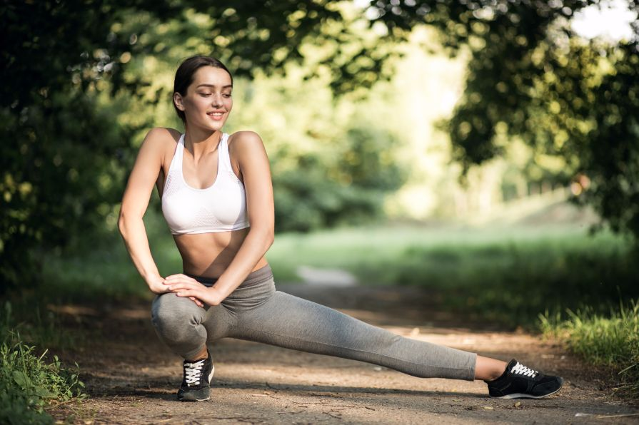 happy exerciser