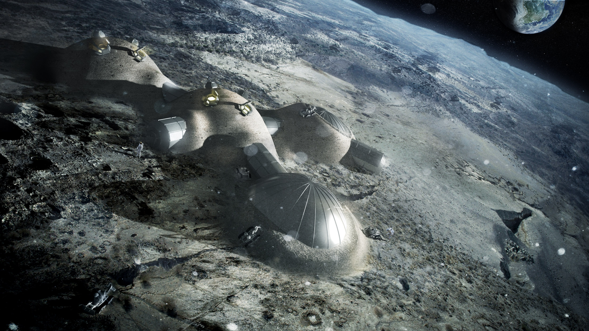 ESA Moon Base 3