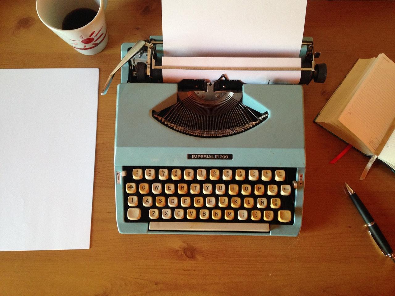 when were typewriters invented