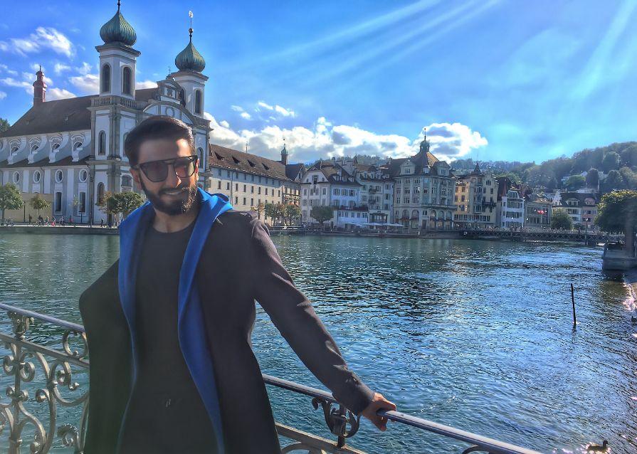 Ranveer Singh in Lucerne