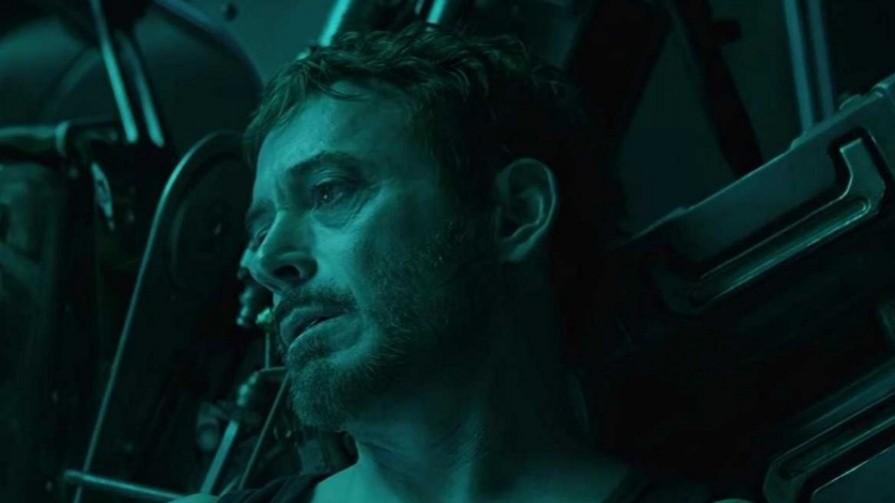 tony stark in avengers end game