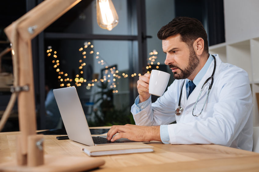 doctor-on-night-duty