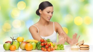 refusing junk food