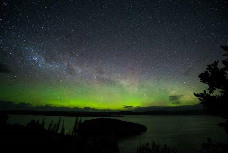 r 3 Stewart Island, Rakiura International Dark Sky Sanctuary- Aurora Australis. (3) PC- Rebecca Wilson Jennings