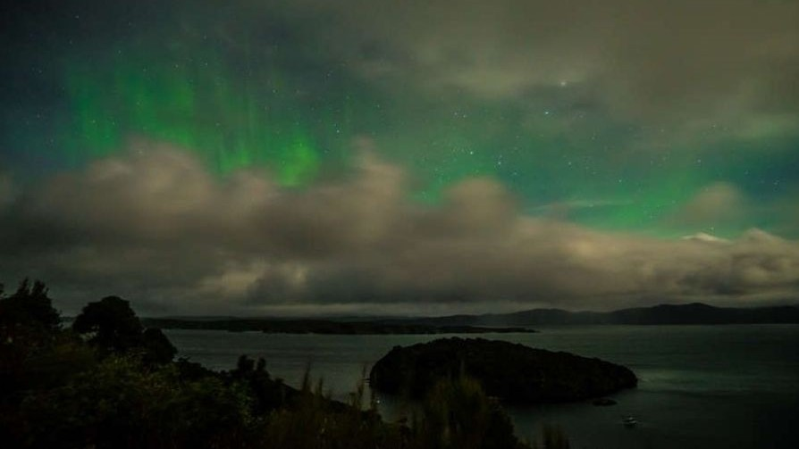r Stewart Island, Rakiura International Dark Sky Sanctuary-Aurora Australis 1