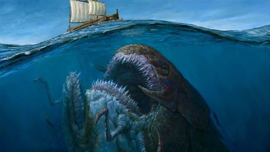 National Geograpihc - Terrifying Prehistoric Sea Monsters ... |Scariest Prehistoric Sea Creatures