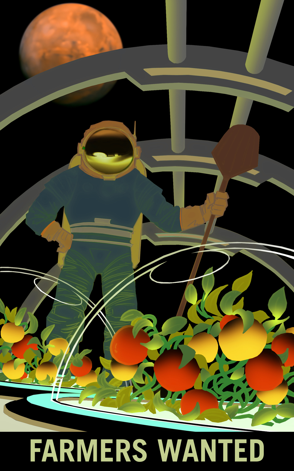 Farmers Wanted for Survival on Mars